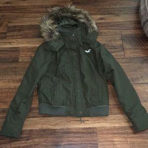 Jackets & Blazers - Hollister bomber jacket